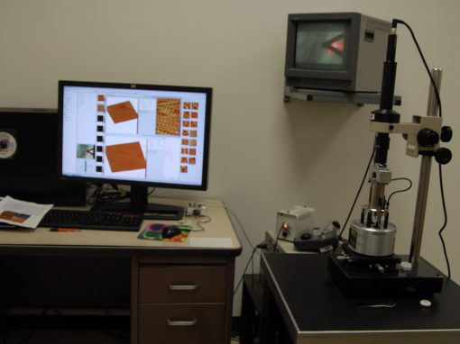 Peak Force Microscope (Bruker MultiMode 8)