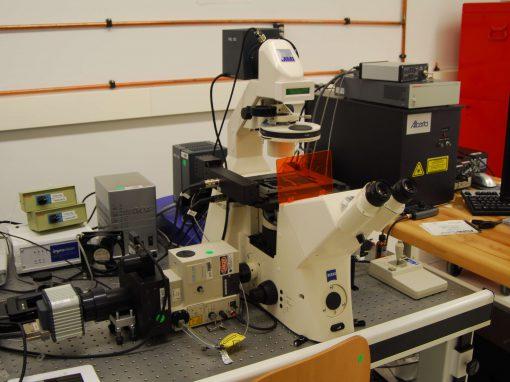 Confocal Microscope and Tweezers