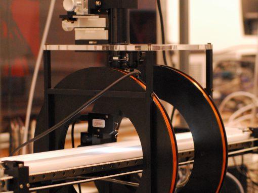 Langmuir Trough with Interfacial Shear Rheometer (ISR400)