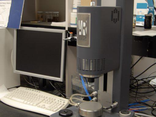 Rheometer (TA Instuments AR-G2)