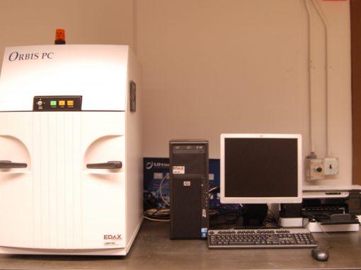 X-Ray Fluorescence Microscope (Orbis PC Micro-EDXRF Elemental Analyzer)