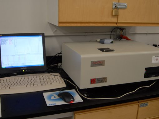 Zeta Potential and Particle Size Analyzer (Brookhaven ZetaPALS)